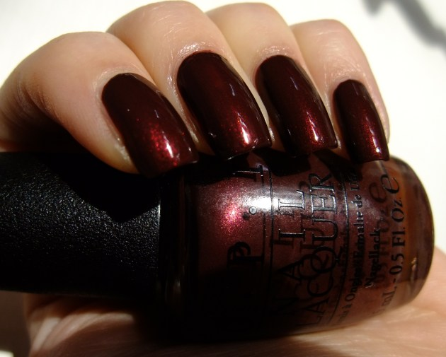 OPI - Sleigh Ride For Two 11