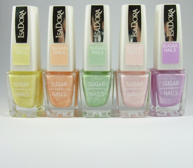 IsaDora Sugar Nails Pastels