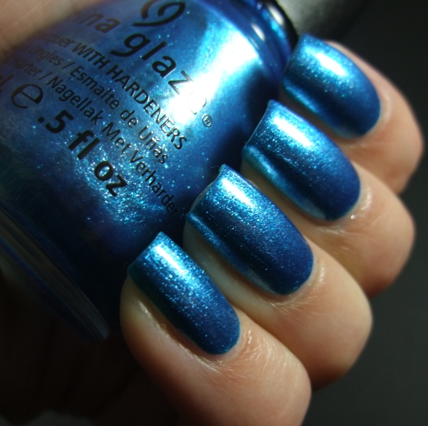 China Glaze - So Blue Without You 03