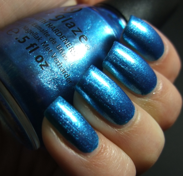 China Glaze - So Blue Without You 04