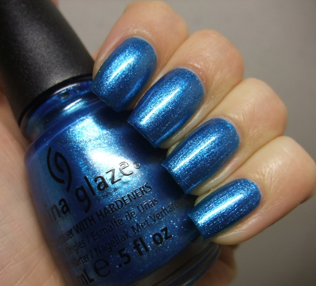 China Glaze - So Blue Without You 13