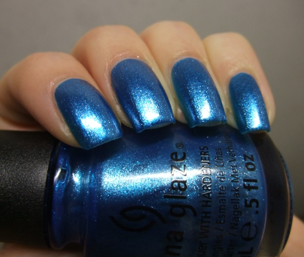 China Glaze - So Blue Without You 14