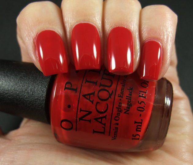 OPI - Red Hot Rio 01