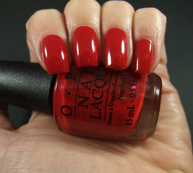 OPI - Red Hot Rio 02