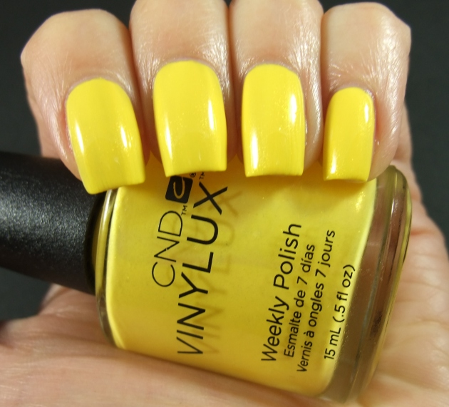 CND Vinylux - Bicycle Yellow 01