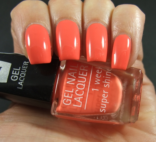 IsaDora Gel Lacquer - Orange Dream 01