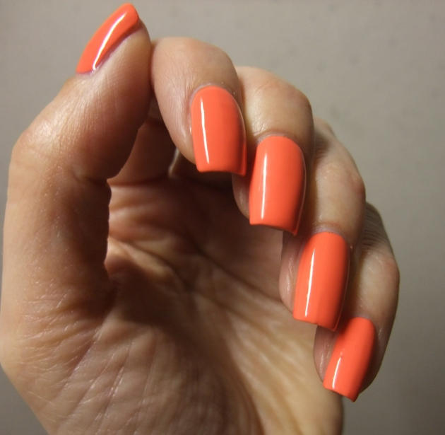 IsaDora Gel Lacquer - Orange Dream 07