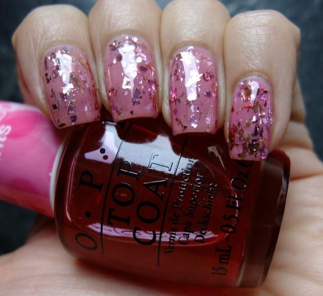 OPI - Be Magentale With Me 01