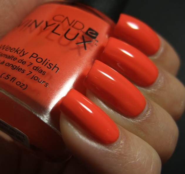 CND Vinylux - Electric Orange 08
