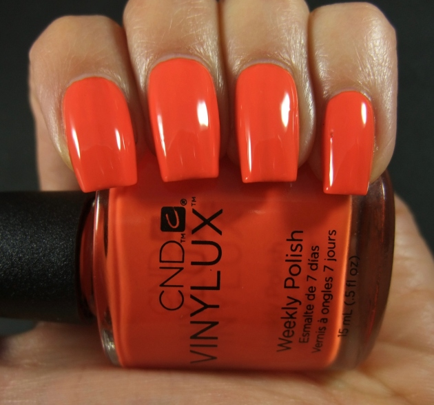 CND Vinylux - Electric Orange 09