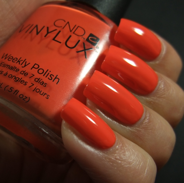 CND Vinylux - Electric Orange 10