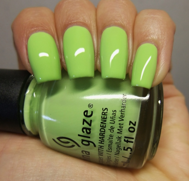 China Glaze - Be More Pacific 07