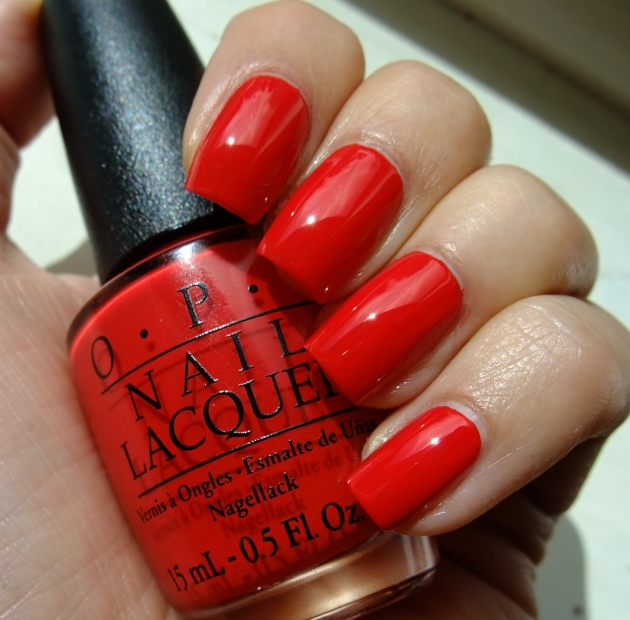 OPI - Coca-Cola Red 01