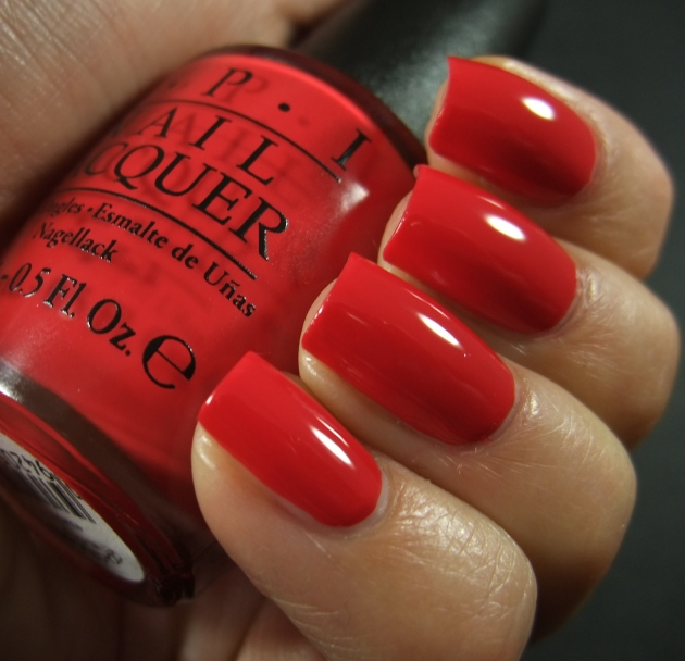 OPI - Coca-Cola Red 03