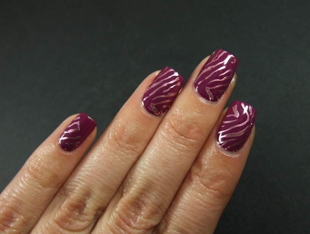 Metallic Zebra Pattern 04
