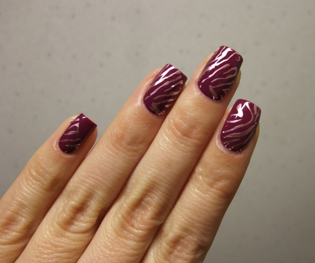 Metallic Zebra Pattern 08