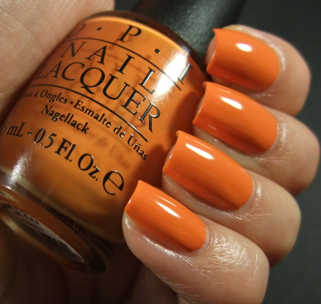 OPI - Orange You Stylish! 10