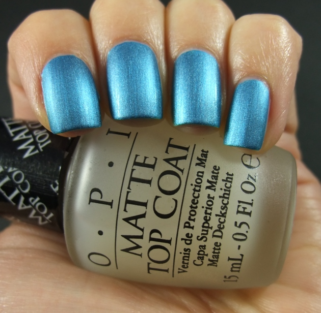 Depend - 4047 Two Beat Turquoise matte 02