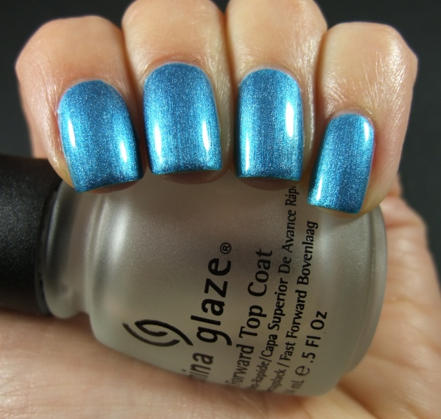 Depend - 4047 Two Beat Turquoise shiny 03