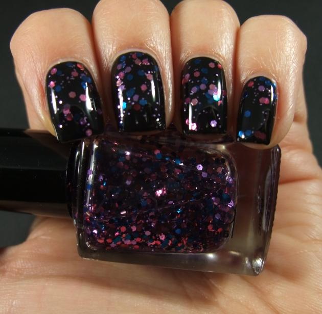 Gina Tricot - Berry Glitter 01