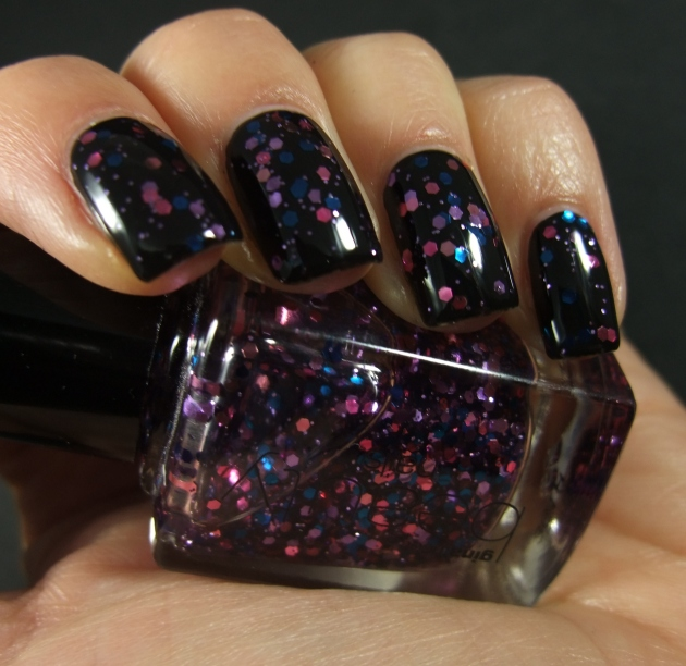 Gina Tricot - Berry Glitter 03