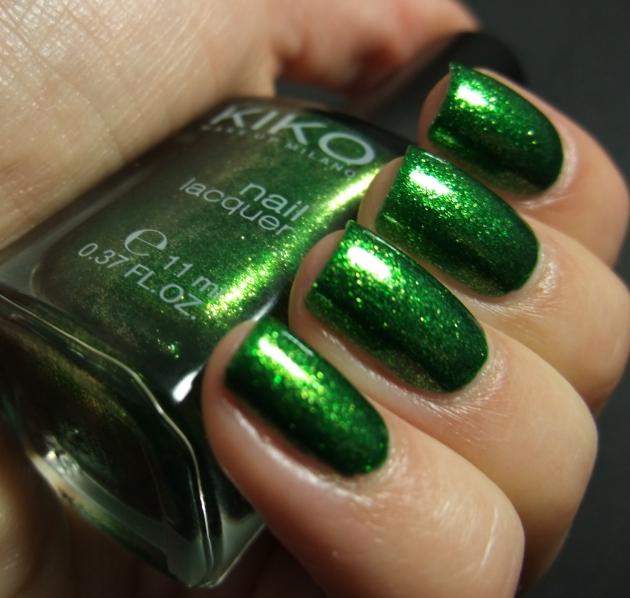 KIKO - 533 Pearly Golden Green 03