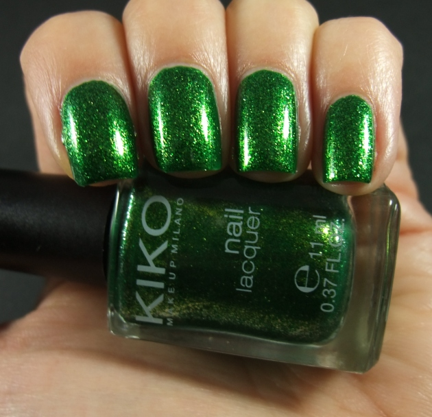 KIKO - 533 Pearly Golden Green 07