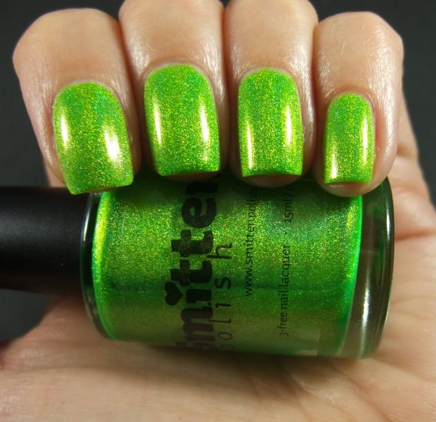 Smitten Polish - Electric Lime 02