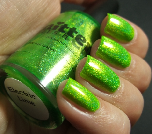 Smitten Polish - Electric Lime 04