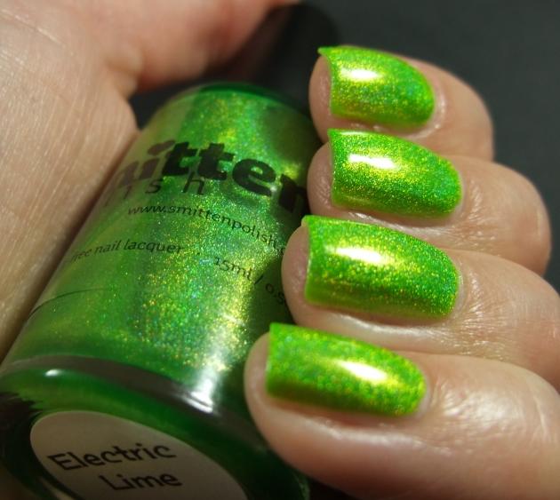 Smitten Polish - Electric Lime 05