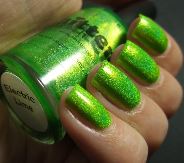 Smitten Polish - Electric Lime 06
