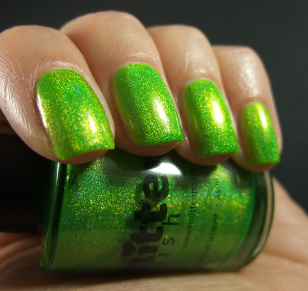 Smitten Polish - Electric Lime 09