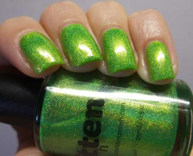 Smitten Polish - Electric Lime 14