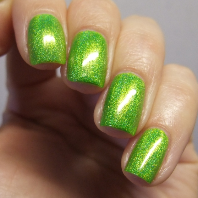 Smitten Polish - Electric Lime 16