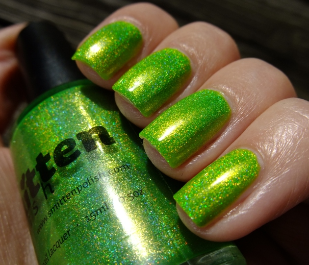Smitten Polish - Electric Lime 17