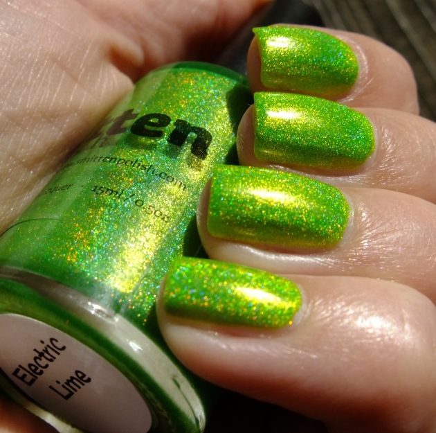 Smitten Polish - Electric Lime 18