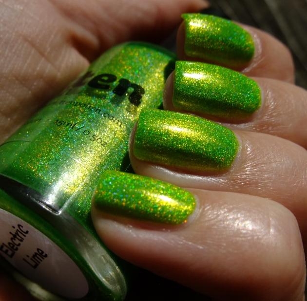 Smitten Polish - Electric Lime 19