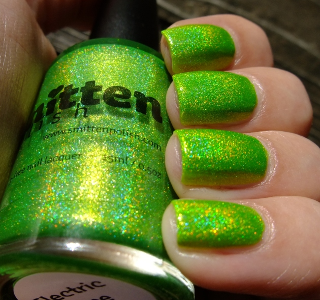 Smitten Polish - Electric Lime 21