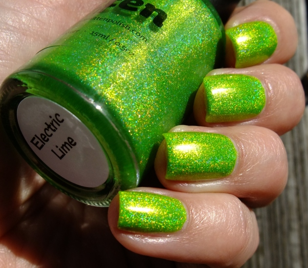 Smitten Polish - Electric Lime 23