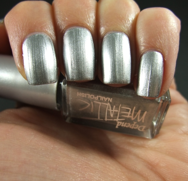 Depend Metallic - 4040 Sonic Silver 08