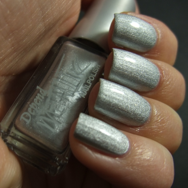 Depend Metallic - 4040 Sonic Silver topplack 05