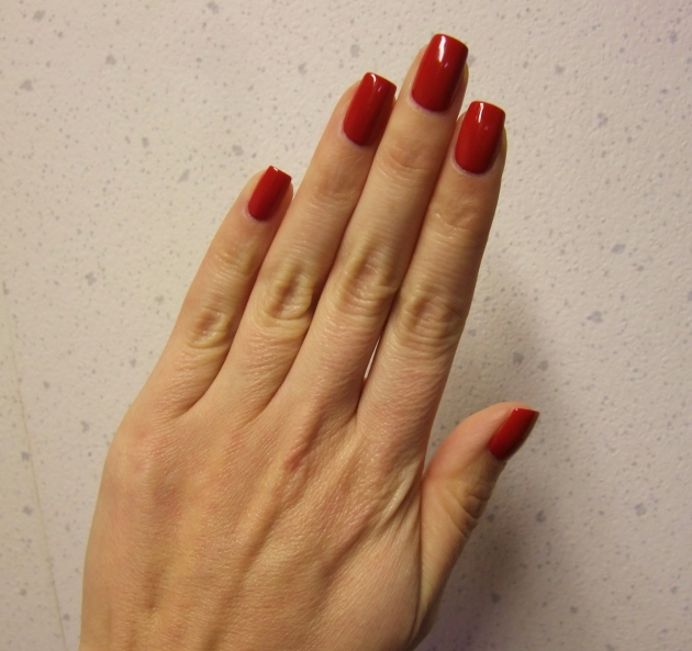 qp nailpolish - Red Gawn 10