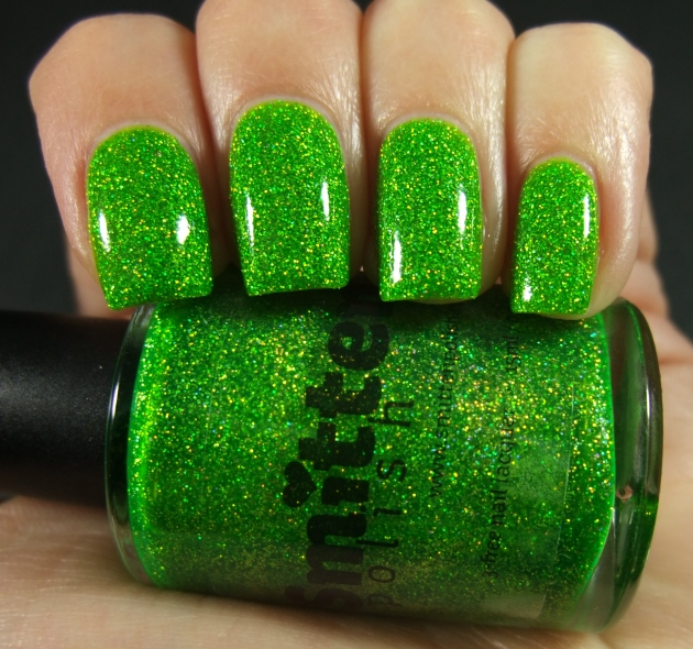 Smitten Polish - Not Your Mama's Easter Grass 06