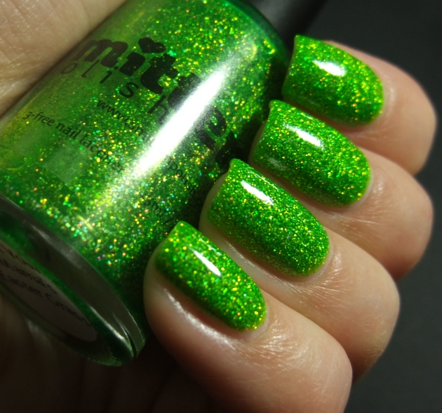 Smitten Polish - Not Your Mama's Easter Grass 09