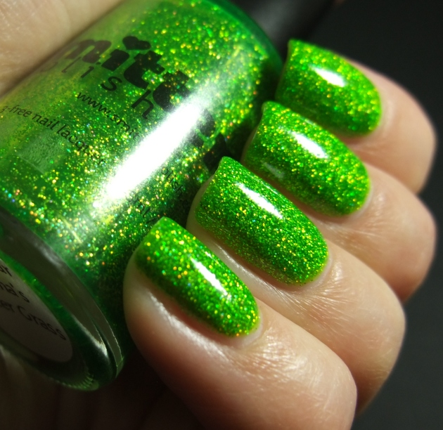 Smitten Polish - Not Your Mama's Easter Grass 10