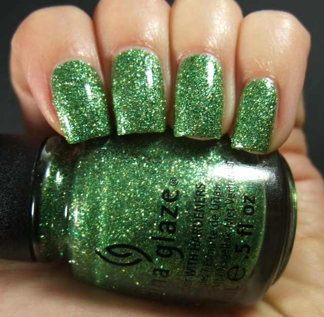 China Glaze - This Is Tree-Mendous w tp 07