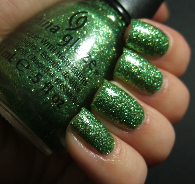 China Glaze - This Is Tree-Mendous w tp 08