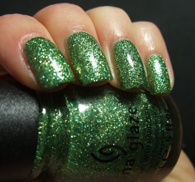 China Glaze - This Is Tree-Mendous w tp 09