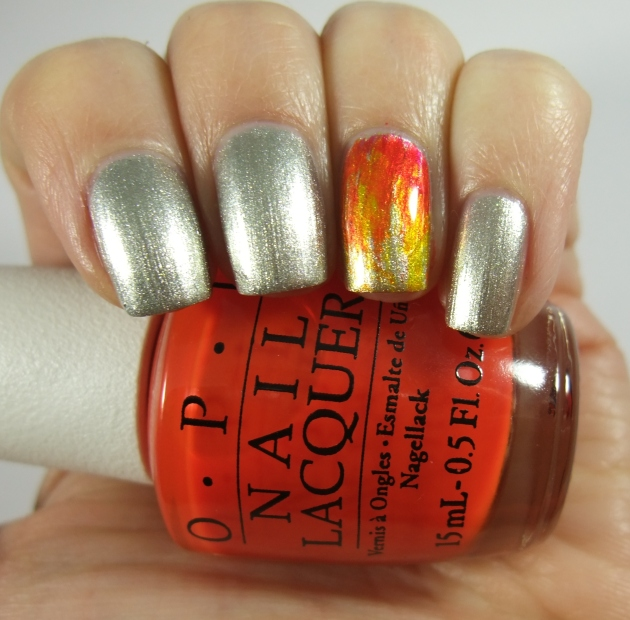 OPI Color Paints Fire 01