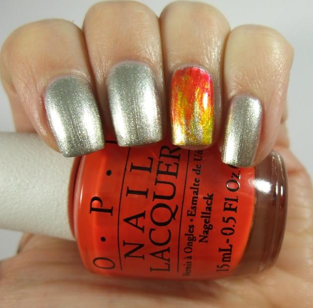 OPI Color Paints Fire 01